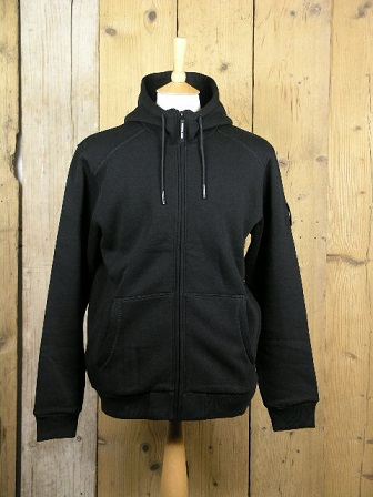 Marshall Artist Siren Black Full Zip Up Hoody MSATM 10215